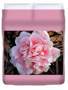 Camellia Flower Duvet Cover