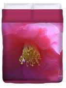 Camellia Japonica Duvet Cover