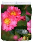 Camellia Pink Duvet Cover