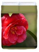 Camellia Rosette Duvet Cover