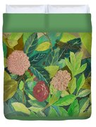 Camellias Duvet Cover