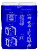 Camera Patent Drawing 2h Duvet Cover
