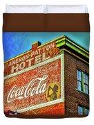 Cameron Patterson Hotel Duvet Cover