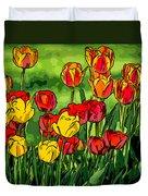 Camille's Tulips Duvet Cover