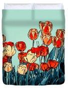 Camille's Tulips - Version 3 Duvet Cover