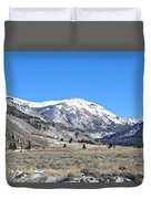 Camp Hale Historical Area Duvet Cover