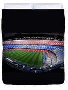 Camp Nou Duvet Cover