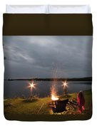 Campsite Lakeside Duvet Cover