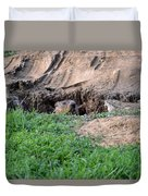 Can I Come Out? Duvet Cover