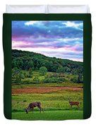 Canaan Valley Evening Duvet Cover