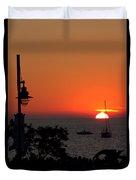 Canada 150th Birthday Sunset 4 Duvet Cover