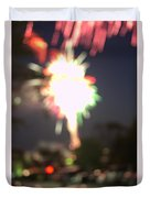 Canada Day 150 Lights 5 Duvet Cover