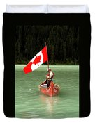Canada Day... Duvet Cover