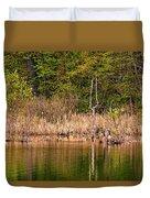 Canada Goose Couple Duvet Cover