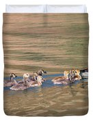 Canada Goose Family Duvet Cover