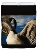 Canada Goose Spreading The Wings Duvet Cover