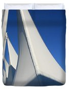 Canada Place Vancouver Duvet Cover