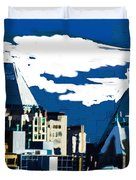 Canada Towers Duvet Cover