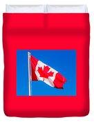 Canadian Flag Duvet Cover