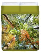Canadian Foliage Duvet Cover