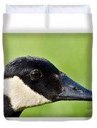 Canadian Goose Portrait Duvet Cover