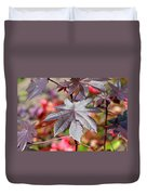Canadian Leaf Duvet Cover