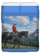 Canadian Majesty Duvet Cover