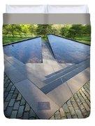 Canadian War Memorial Green Park London Duvet Cover