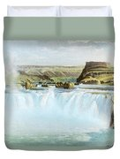 Canadian Water Fall Duvet Cover