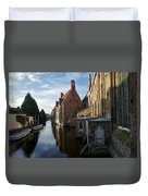 Canal By Church Duvet Cover