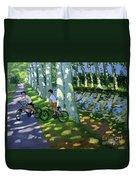 Canal Du Midi France Duvet Cover