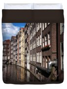 Canal Houses Duvet Cover