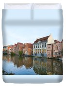 Channel In Ghent Duvet Cover