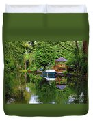 Canal Living Duvet Cover