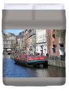 Canal Lunch Duvet Cover