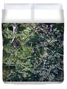 Canal Reflections Abstract Duvet Cover