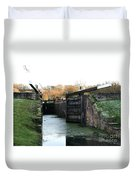 Canal Rocks Duvet Cover
