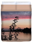 Canal Sunset Duvet Cover