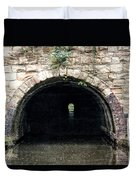 Canal Tunnel 2 Duvet Cover