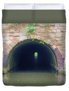 Canal Tunnel 3 Duvet Cover