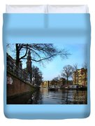 Canals Of Amsterdam IIi Duvet Cover