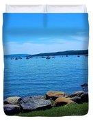 Canandaigua Lake  Duvet Cover