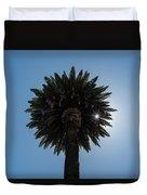 Date Palm Starburst Duvet Cover