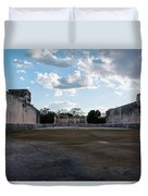 Cancun Mexico - Chichen Itza - Great Ball Court - Open End Duvet Cover
