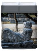 Cancun Mexico - Chichen Itza - Mayachacmool Duvet Cover