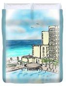 Cancun Royal Sands Duvet Cover
