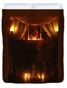 Candlelight Glow Duvet Cover