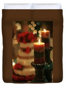 Candles And Cake Duvet Cover