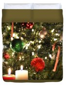 Candles For Christmas 2 Duvet Cover