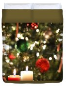 Candles For Christmas 3 Duvet Cover